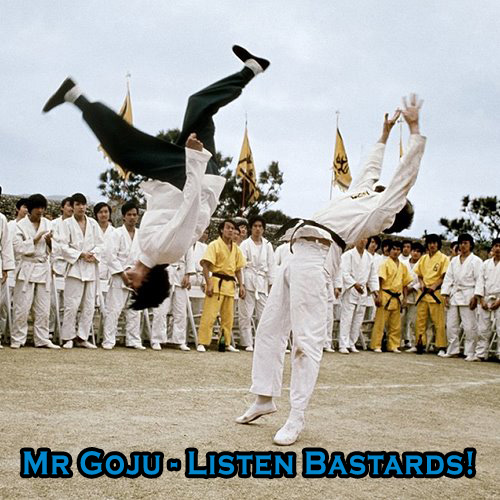 Mr Goju - Listen Bastards