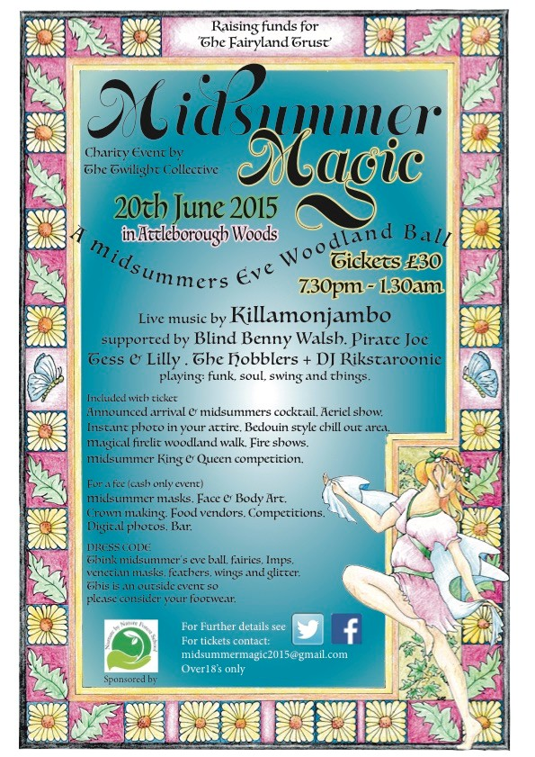 Midsummer Magic 2015 poster