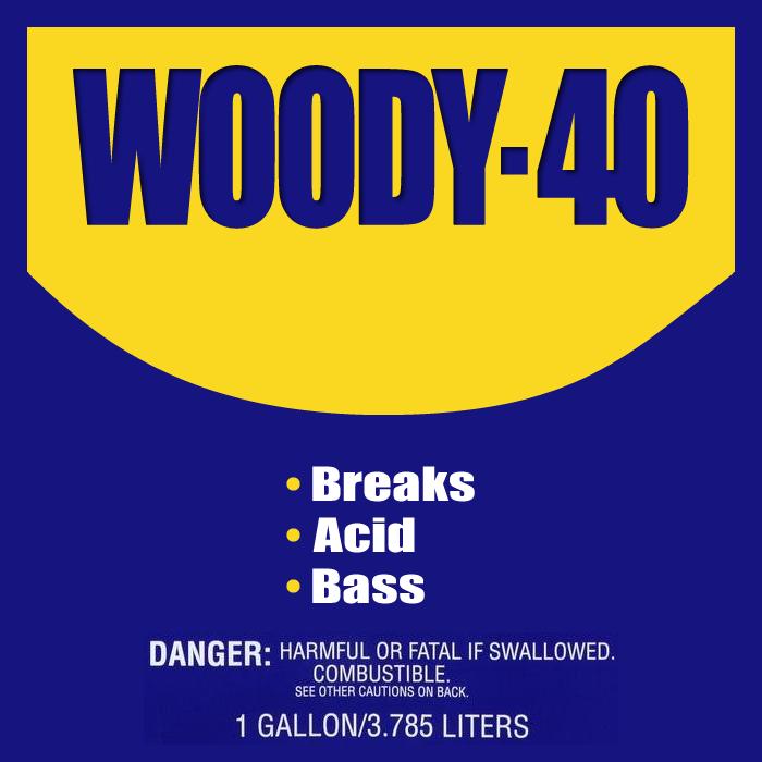 Rikstaroonie - WOODY-40 cover